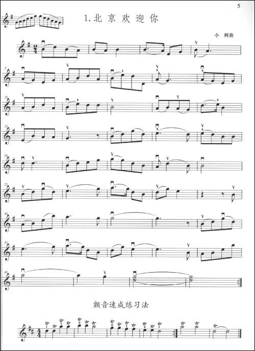 菊花台小提琴简谱 菊花台小提琴乐谱 菊花台的小提琴曲谱;; 全新正版